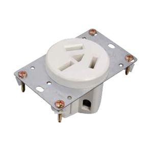 Straight Blade Power Receptacle
